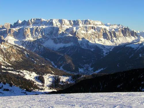 Sella group from the north.