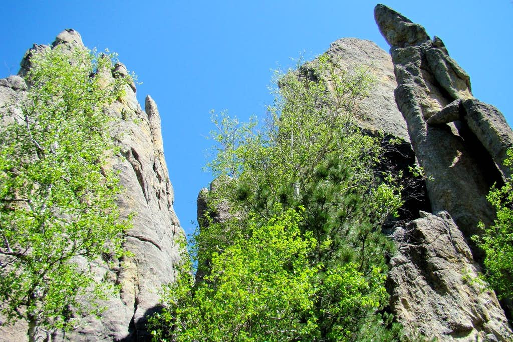 Granite Spires Ready to Climb