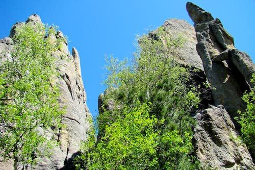 Granite Spires Ready to Climb