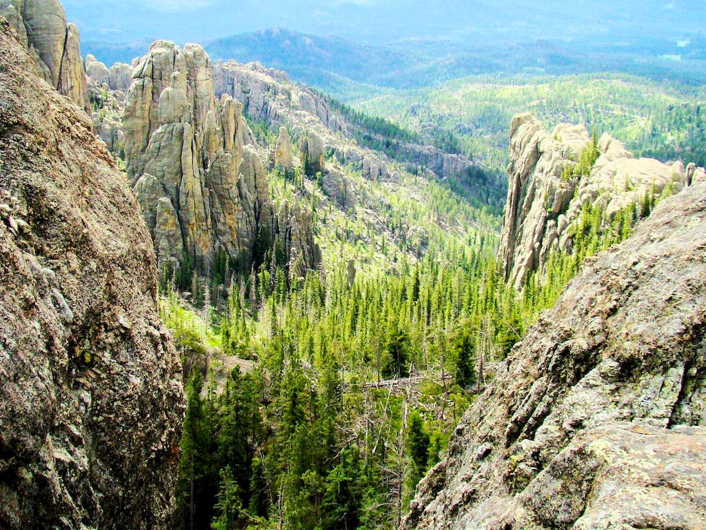 Spires View from Little Devils Tower