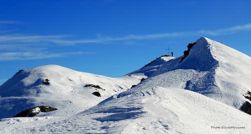 Monte Cola winter route from Le Pozze