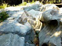 Erosion, the signs of Valle del Sarca ancient glacier - Bosco Caproni