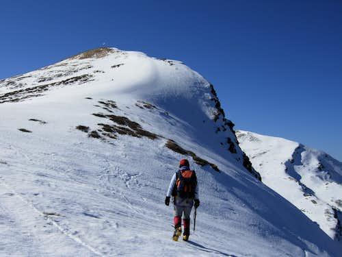 Roccabiasca summit crest, Northern Apennines