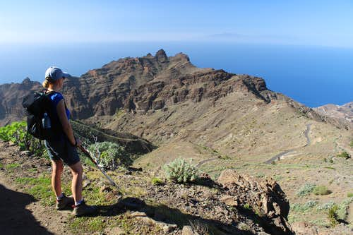 Tejeleche ridge, La Gomera.
