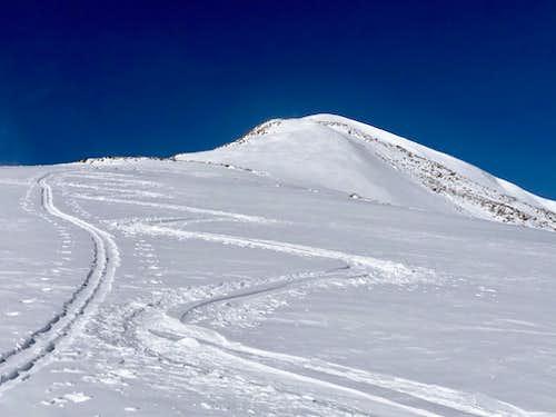 Skin tracks Homestake Peak