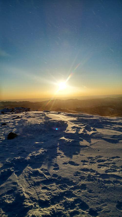 Sunrises and summits
