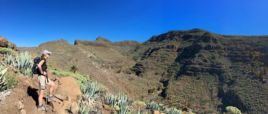 Barranco de Argaga, La Gomera