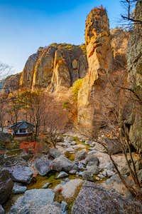 Beautiful River Valleys of Korea's Juwangsan National Park-5