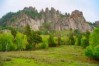 Climbing Areas in Dughan Khad