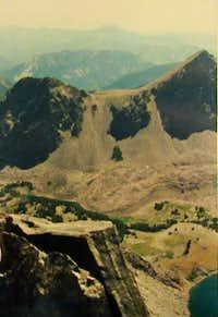 Hilgard ridge and lake