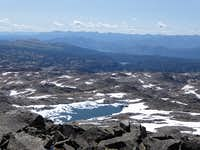 Ice Lake West Castle Peak