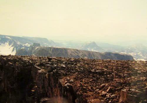 Skypilot Mt &  Lonesome Mt from summit of Castle Peak