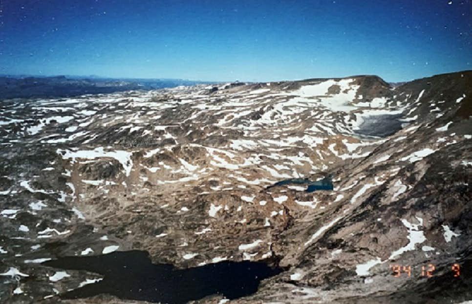 Varve Lk NavajoTarn Lk Castle Rock Glacier 2015