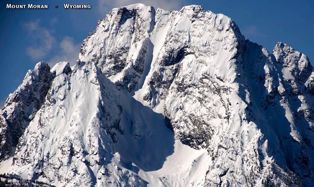 Mount Moran, The Skillet