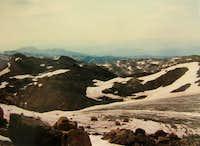 East end Castle Rock Glacier Aug86