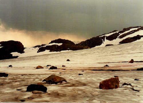 Castle Rock Glacier 1986