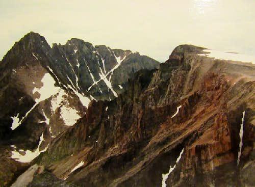 Mt Peal lkg at Granite Tempest