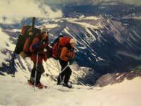 Rainier ski out
