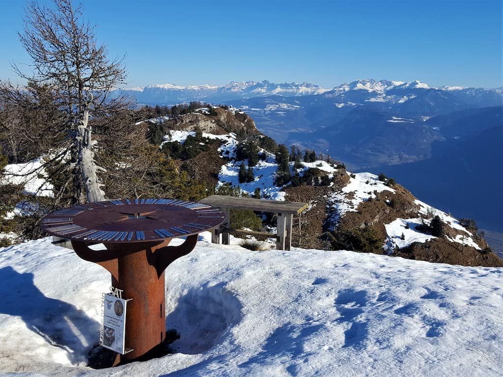 Summit of Corno di Tres