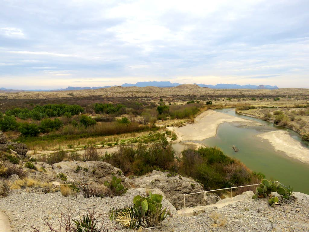 Rio Grande from the high point