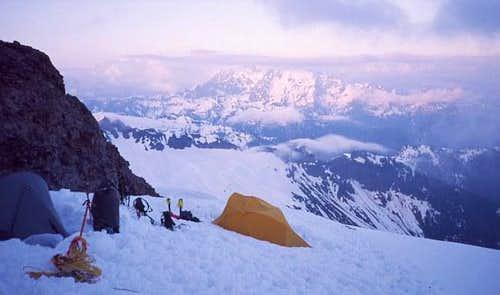 Boulder Cleaver camp