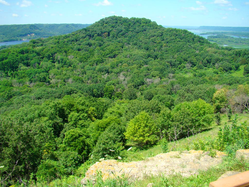 Brady's Bluff View from Perrot Ridge