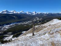 The Upper Highwood from the Cat Creek Hills