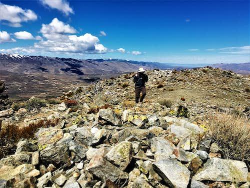 Phil reaching the summit 4/11/2020