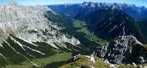 Gehrenspitze summit view