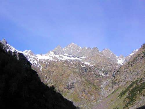 Diavolo di Tenda seen from...