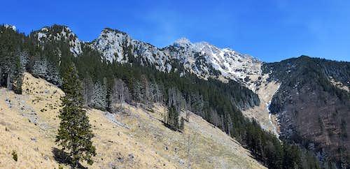 The SW ravine of Storzic
