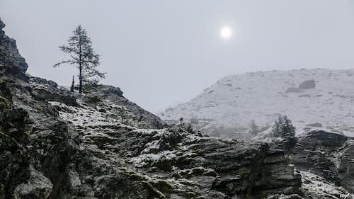 Three Winter Days: Early September Under Matterhorn