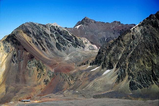 Bonete is the peak in the...