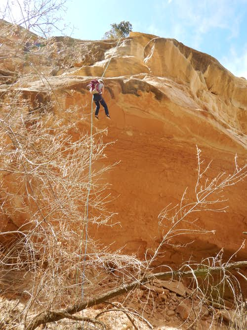 Shaylee in Ribbon Canyon