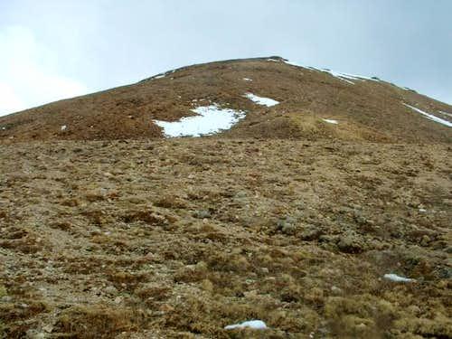 5/14/05: Lots of steep, brown...