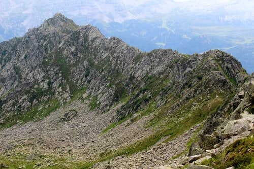 Monte Zeledria (2427m)