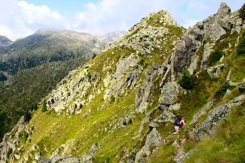 Monte Zeledria traverse, Presanella mountains