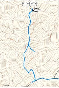 Taylor Mountain GPS