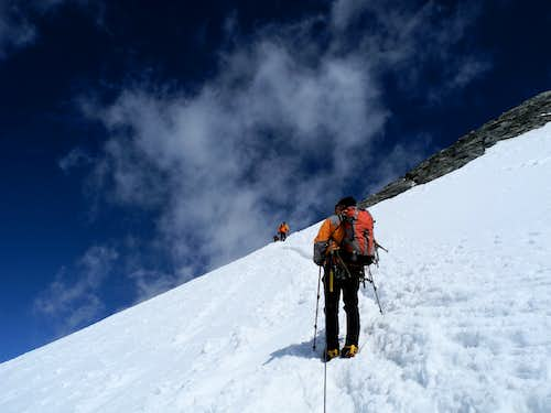 Western Breithorn Normal route