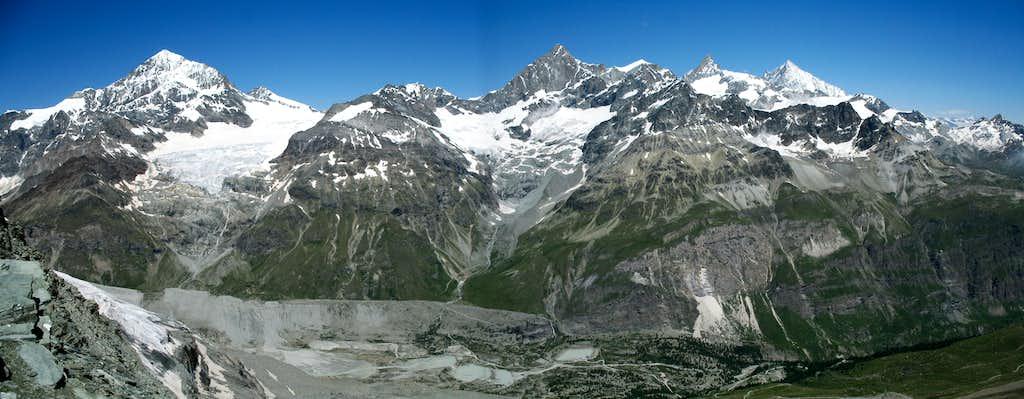 Hornli ridge panorama