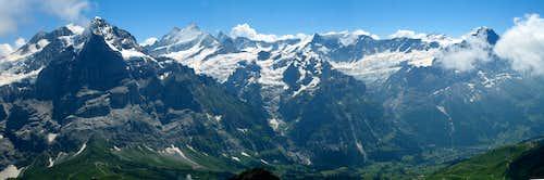 Schwarzhorn panorama