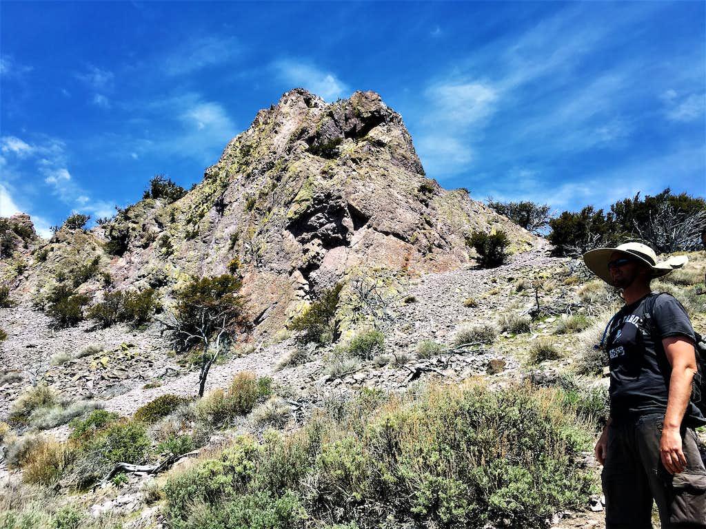 South side of Cone Peak