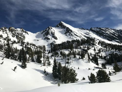 Gallatin Peak - Moonlit Ski Loop