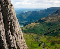 D-route.Gimmer-Crag