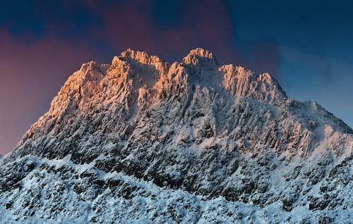 Tryfan winter dawn