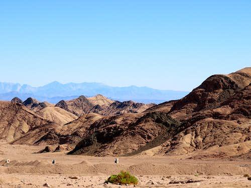 Sinai and Saudi Arabia