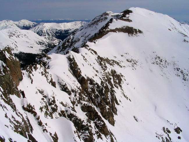 Pettingell Peak to the North...
