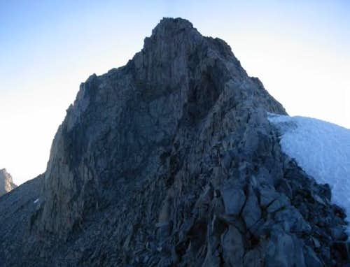 View of Lyell's summit from...