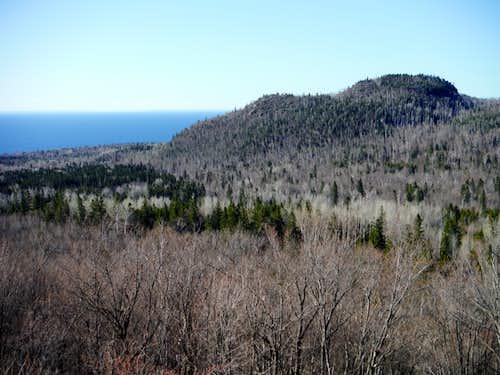 Carlton Peak from Britton Peak