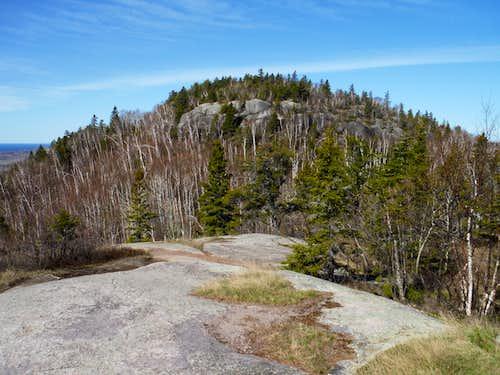 Carlton Peak from Tom Tofte Overlook